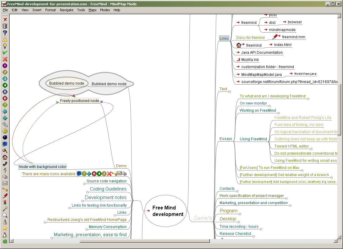 Mind-Mapping-Software FreeMind